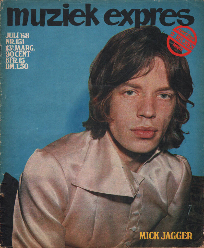 Muziek Expres issue 151 - July 1968 [Holland] - Magazine