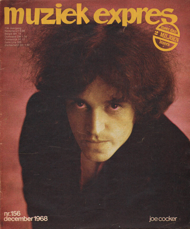 Muziek Expres issue 156 - December 1968 [Holland] - Magazine
