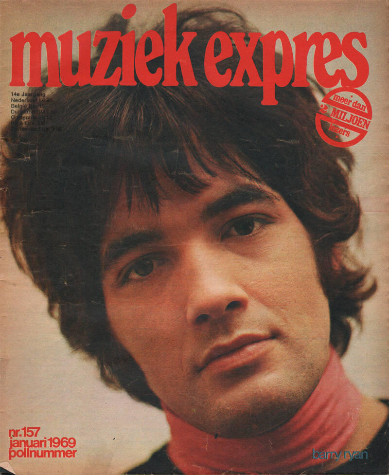 Muziek Expres issue 157 - January 1969 [Holland] - Magazine