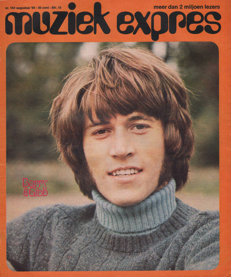 Muziek Expres issue 164 - August 1969 [Holland] - Magazine