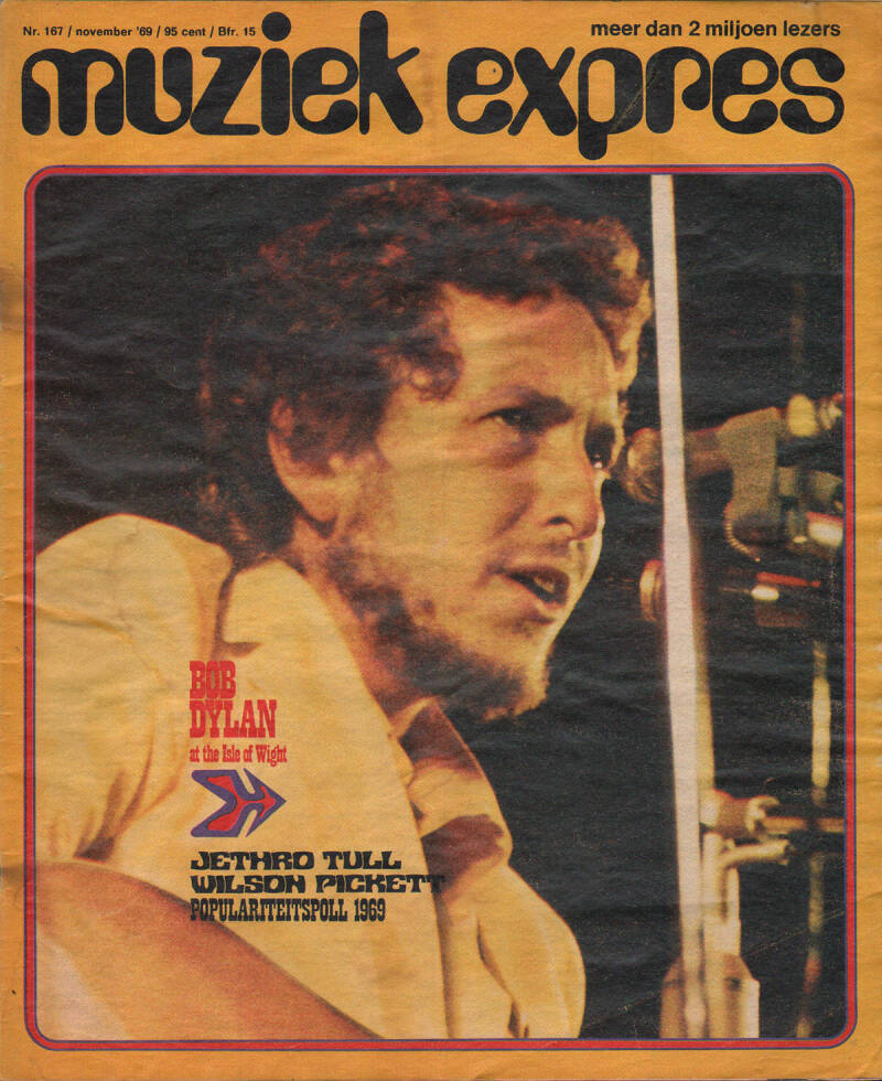 Muziek Expres issue 167 - November 1969 [Holland] - Magazine