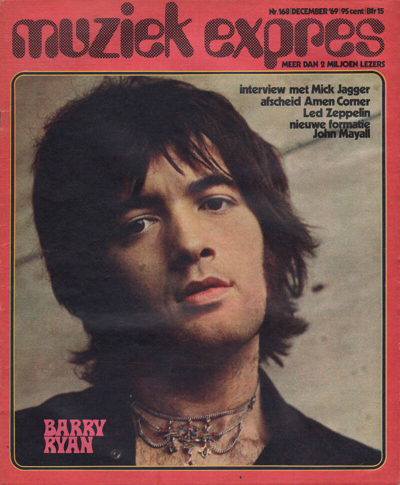 Muziek Expres issue 168 - December 1969 [Holland] - Magazine