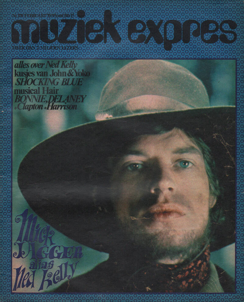Muziek Expres issue 170 - February 1970 [Holland] - Magazine