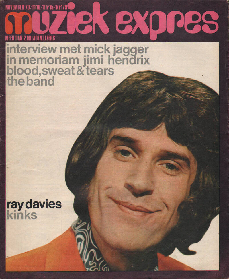 Muziek Expres issue 179 - November 1970 [Holland] - Magazine