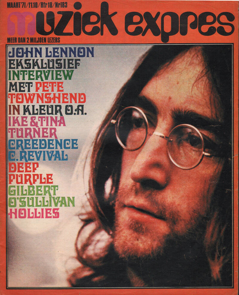 Muziek Expres issue 183 - March 1971 [Holland] - Magazine