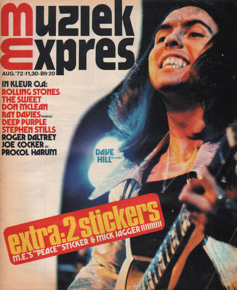 Muziek Expres issue 200 - August 1972 [Holland] - Magazine