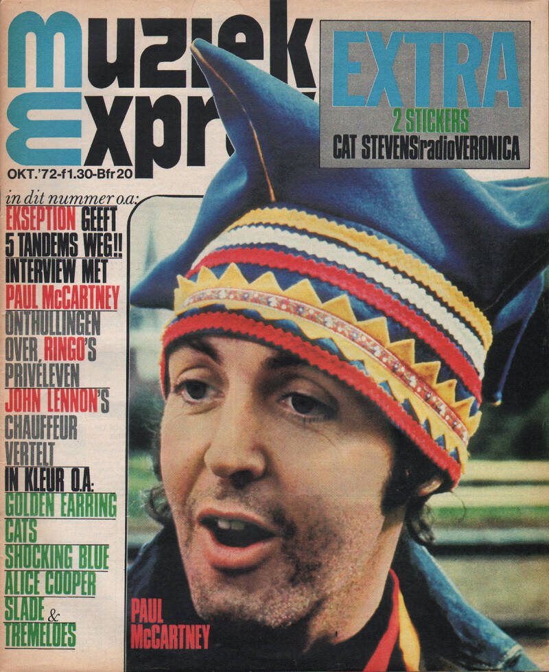 Muziek Expres issue 202 - October 1972 [Holland] - Magazine
