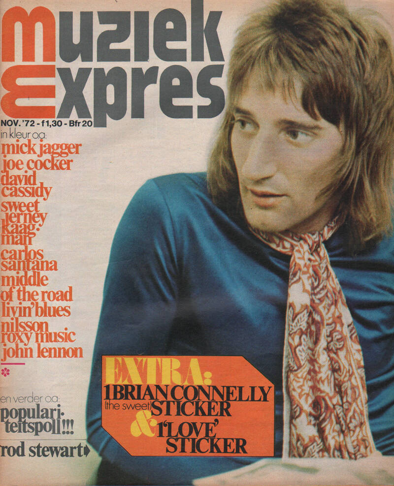 Muziek Expres issue 203 - November 1972 [Holland] - Magazine