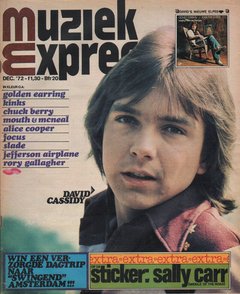 Muziek Expres issue 204 - December 1972 [Holland] - Magazine