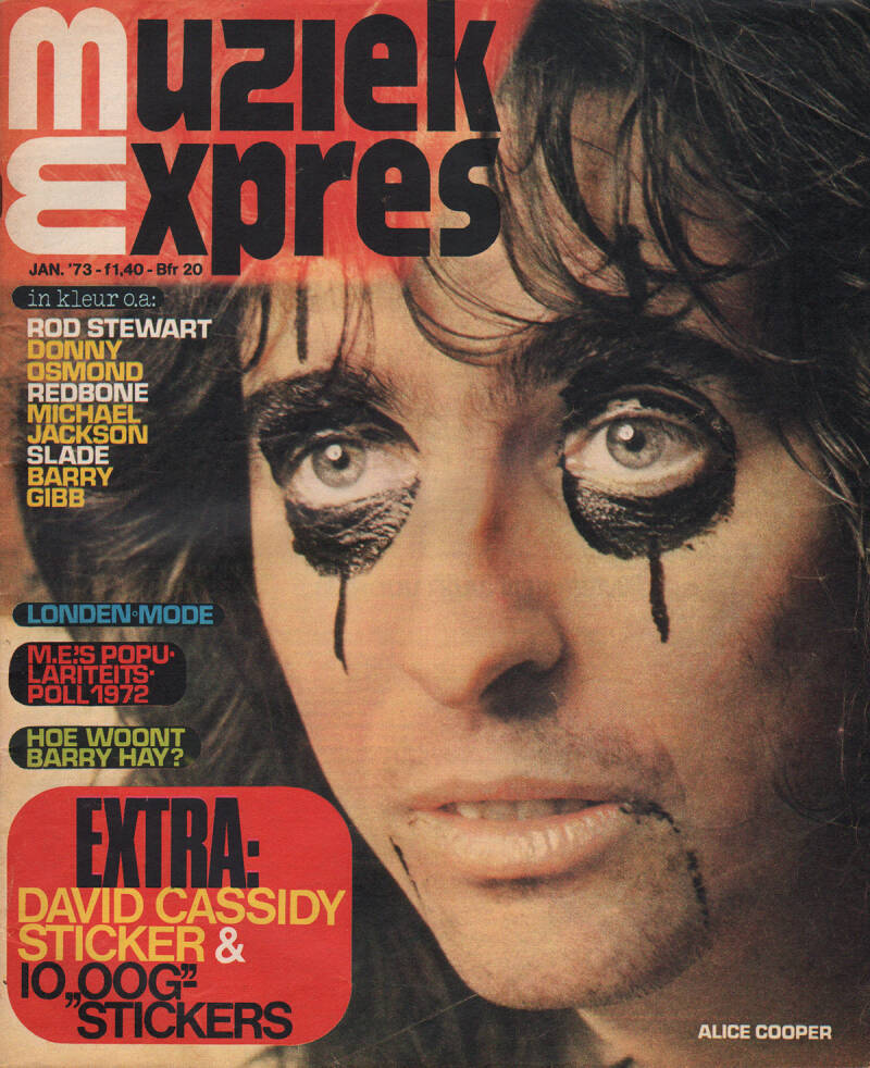 Muziek Expres issue 205 - January 1973 [Holland] - Magazine