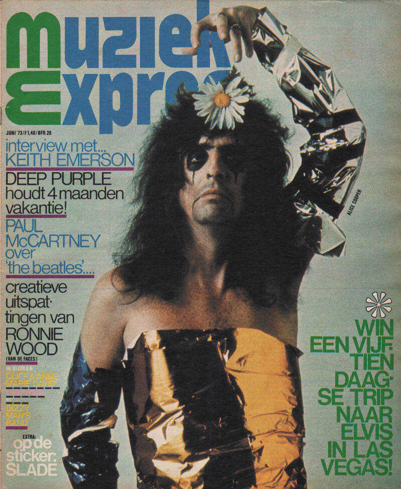 Muziek Expres issue 210 - June 1973 [Holland] - Magazine