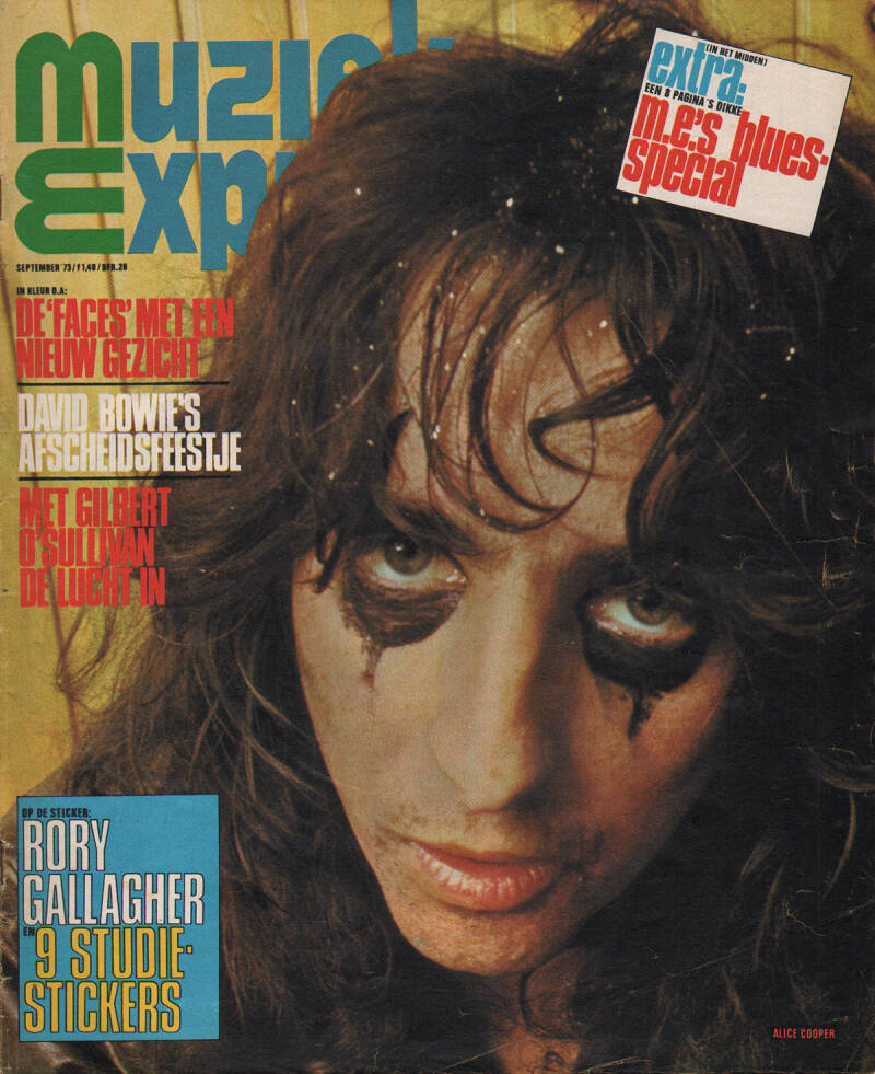 Muziek Expres issue 213 - September 1973 [Holland] - Magazine