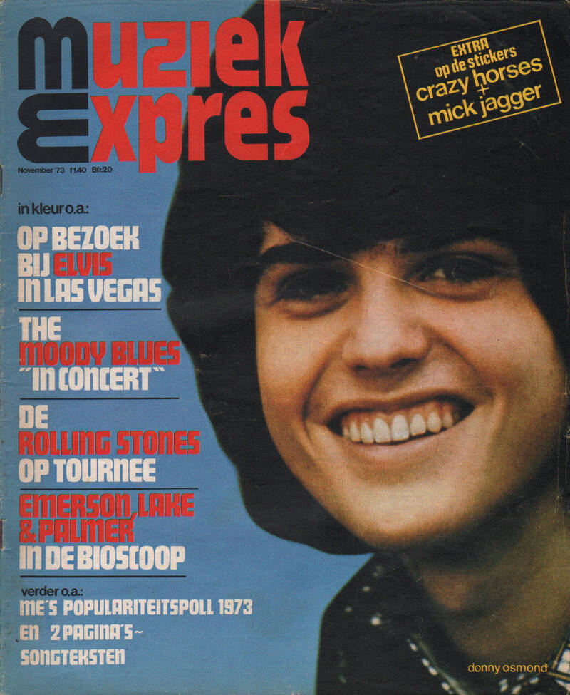 Muziek Expres issue 215 - November 1973 [Holland] - Magazine