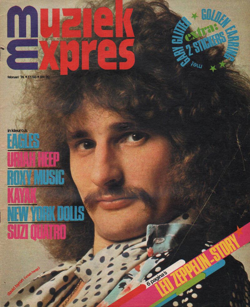 Muziek Expres issue 218 - February 1974 [Holland] - Magazine