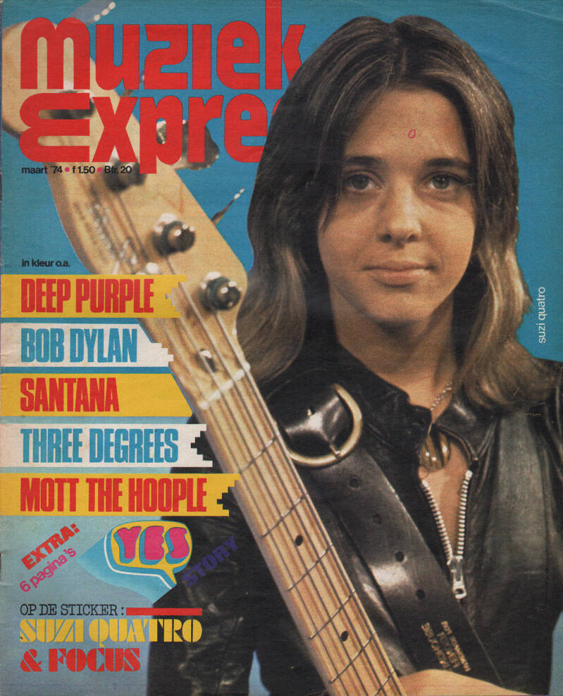 Muziek Expres issue 219 - March 1974 [Holland] - Magazine