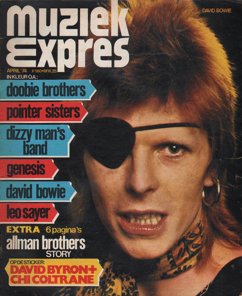 Muziek Expres issue 220 - April 1974 [Holland] - Magazine