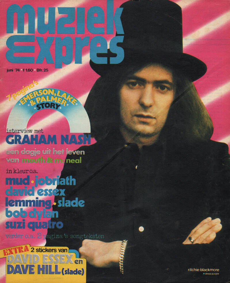 Muziek Expres issue 222 - June 1974 [Holland] - Magazine