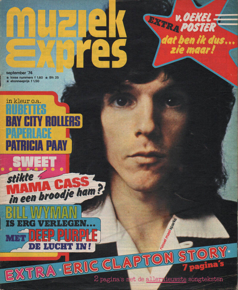 Muziek Expres issue 225 - September 1974 [Holland] - Magazine