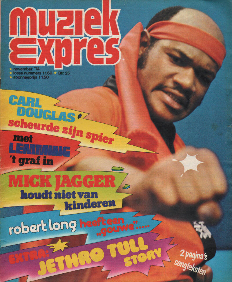 Muziek Expres issue 227 - November 1974 [Holland] - Magazine