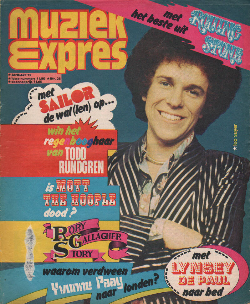 Muziek Expres issue 229 - January 1975 [Holland] - Magazine