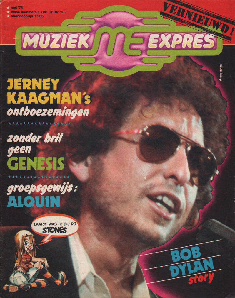 Muziek Expres issue 233 - May 1975 [Holland] - Magazine