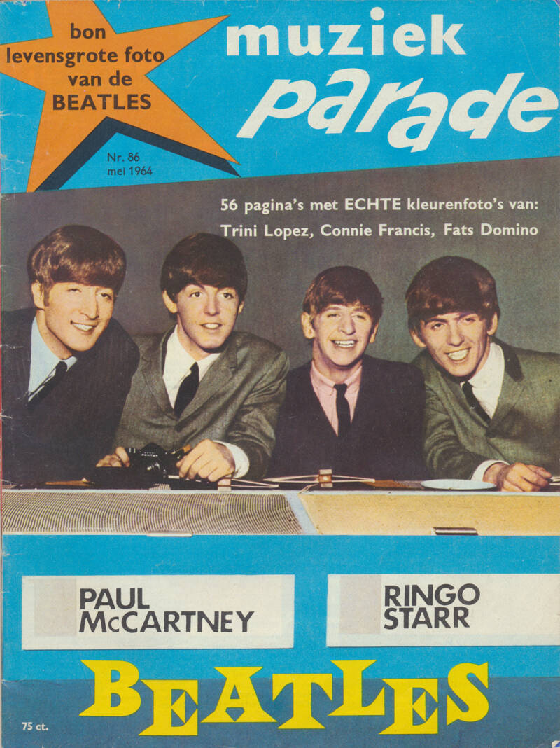 Muziek Parade issue 086 - May 1964 [Holland] - Magazine
