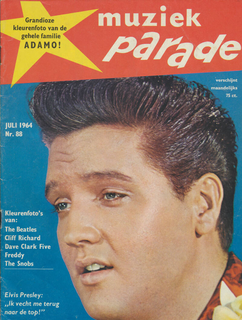 Muziek Parade issue 088 - July 1964 [Holland] - Magazine