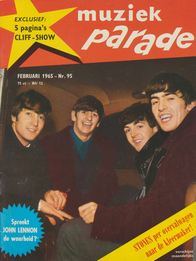 Muziek Parade issue 095 - February 1965 [Holland] - Magazine