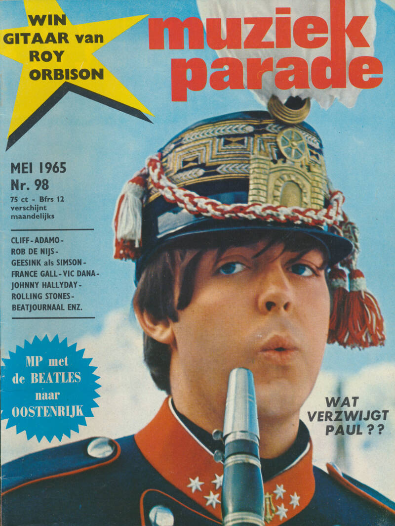 Muziek Parade issue 098 - May 1965 [Holland] - Magazine