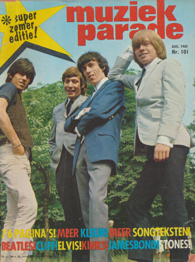 Muziek Parade issue 101 - August 1965 [Holland] - Magazine