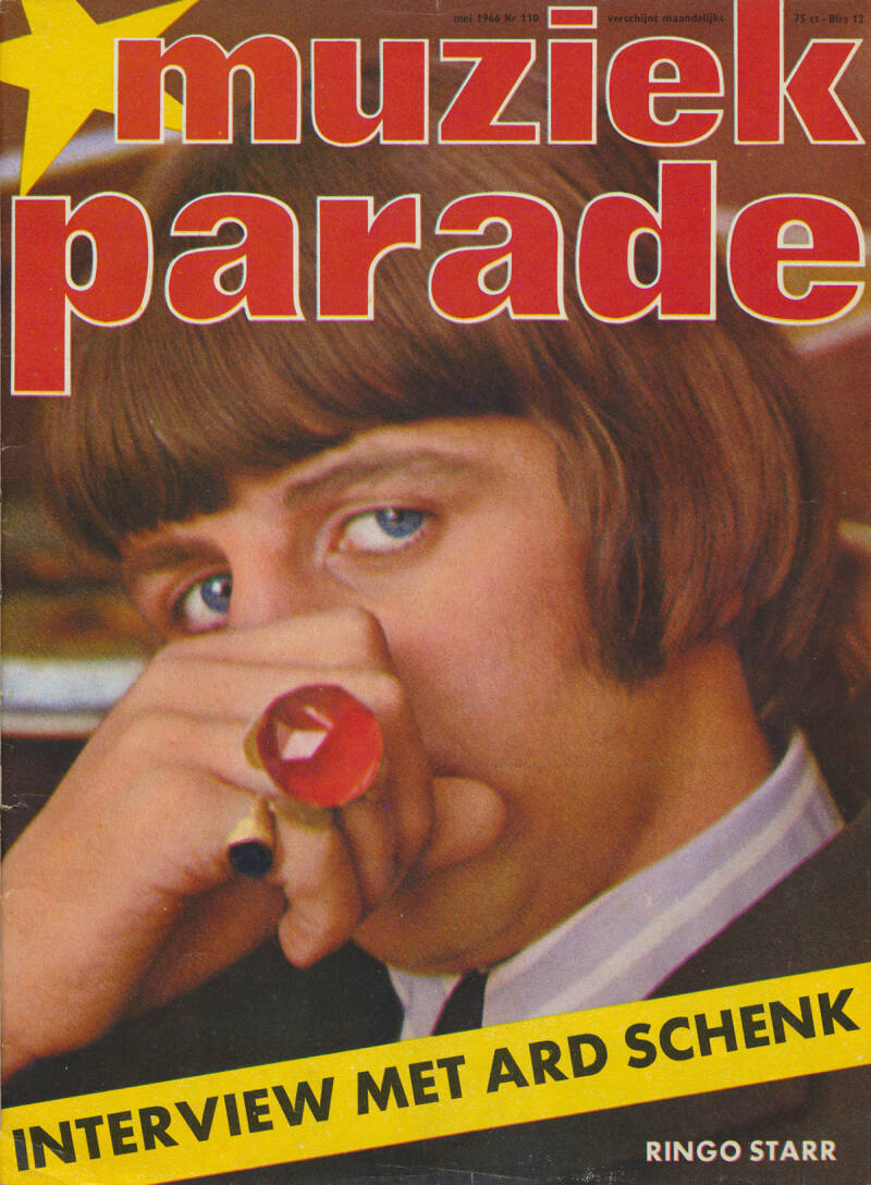 Muziek Parade issue 110 - May 1966 [Holland] - Magazine