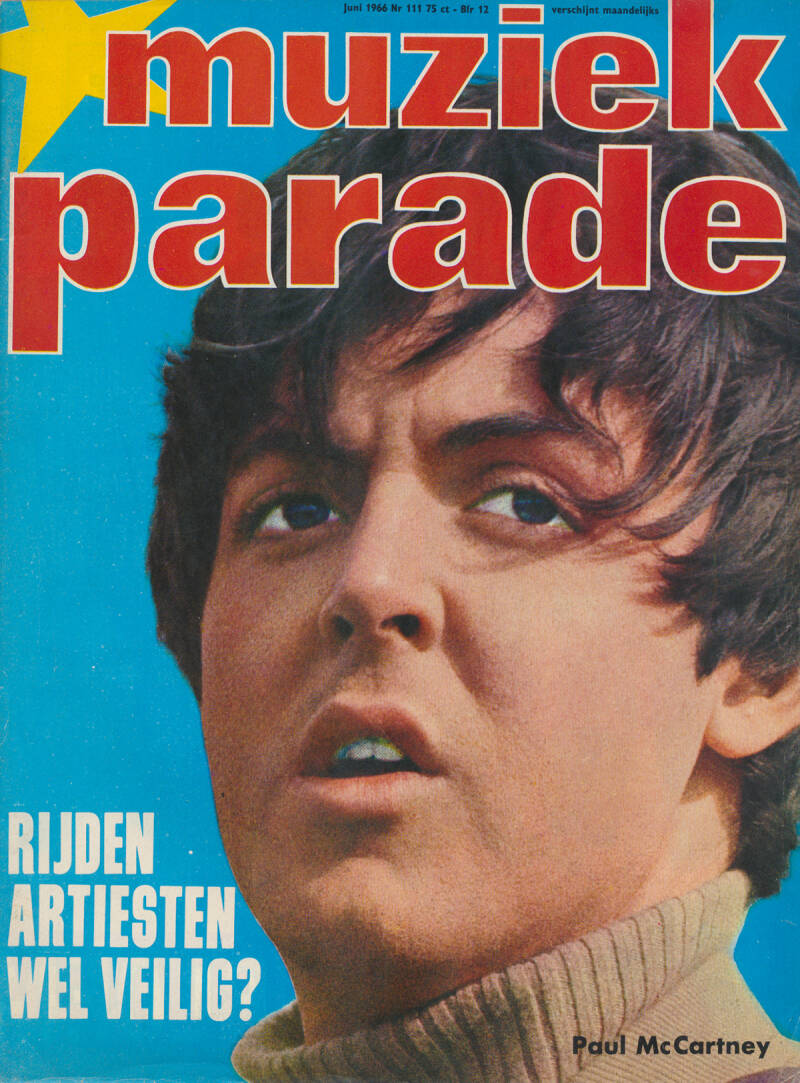 Muziek Parade issue 111 - June 1966 [Holland] - Magazine