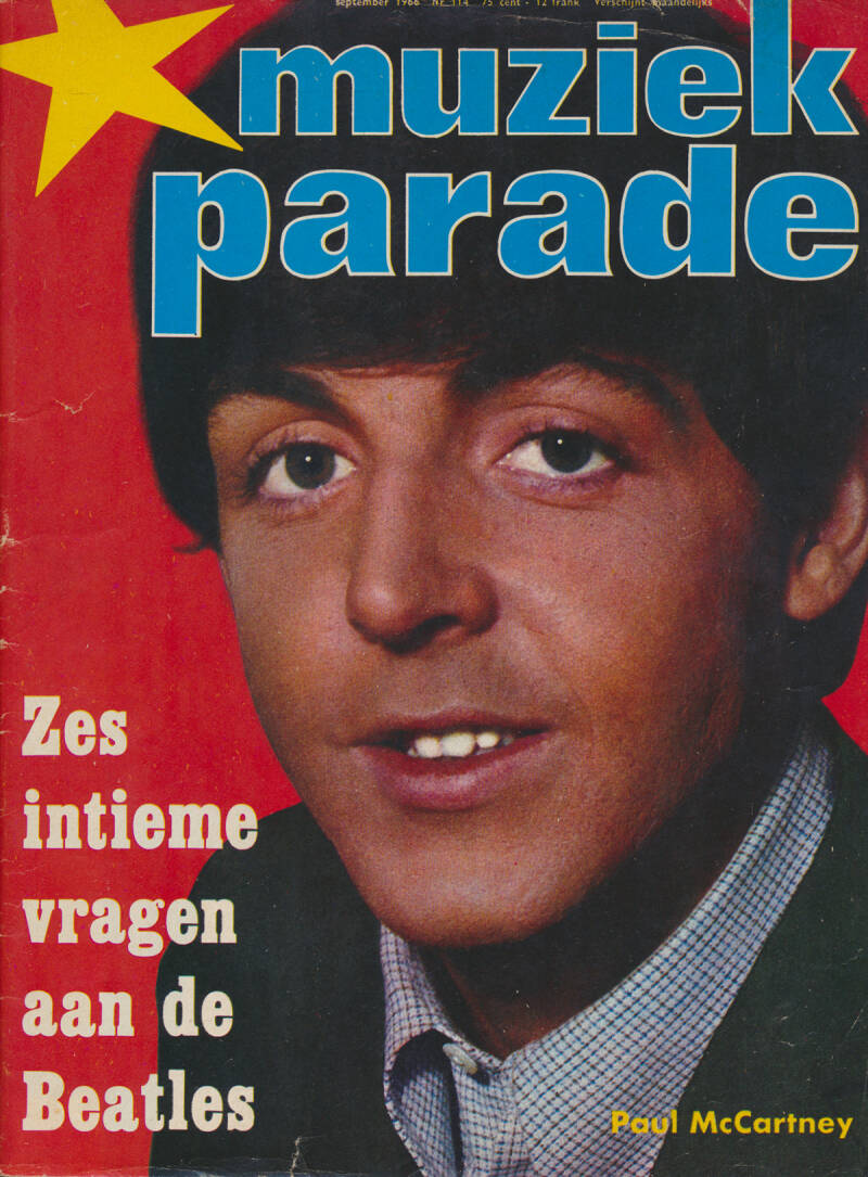 Muziek Parade issue 114 - September 1966 [Holland] - Magazine