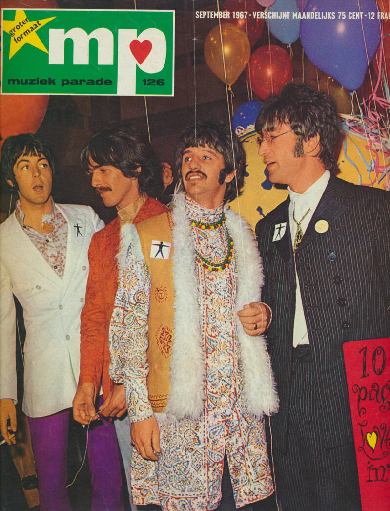 Muziek Parade issue 126 - September 1967 [Holland] - Magazine