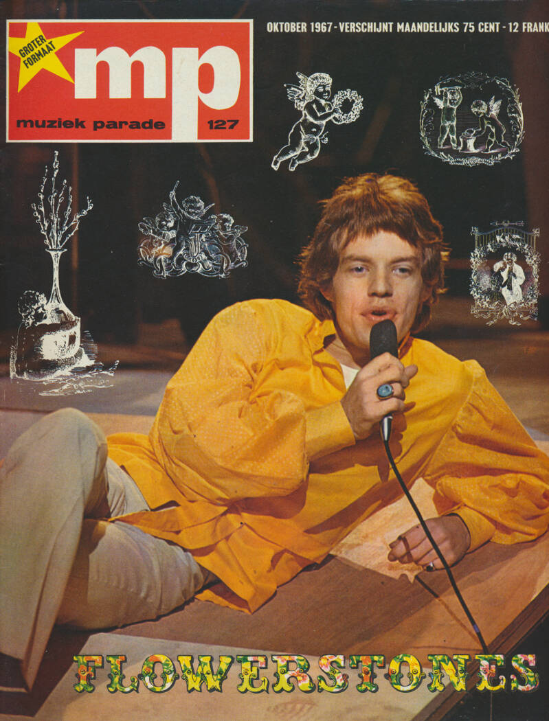 Muziek Parade issue 127 - October 1967 [Holland] - Magazine