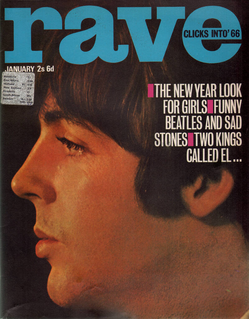 Rave - January 1966 [UK] - Magazine