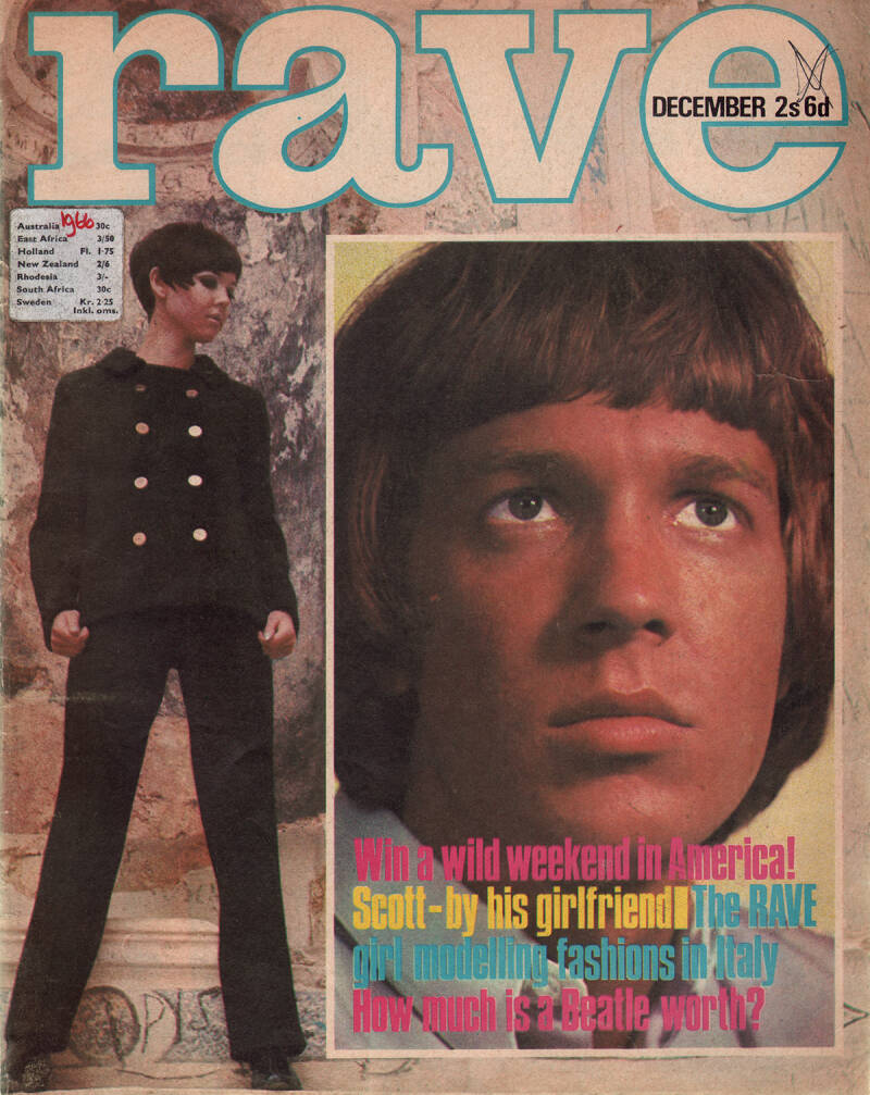 Rave - December 1966 [UK] - Magazine