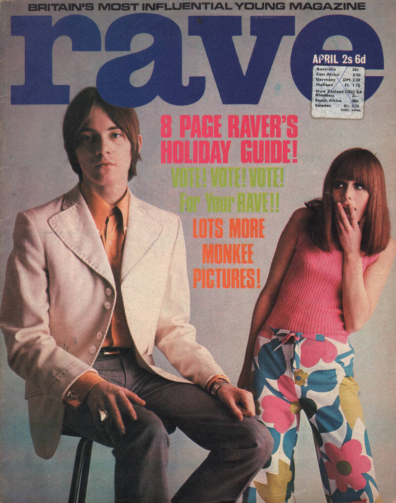 Rave - April 1967 [UK] - Magazine