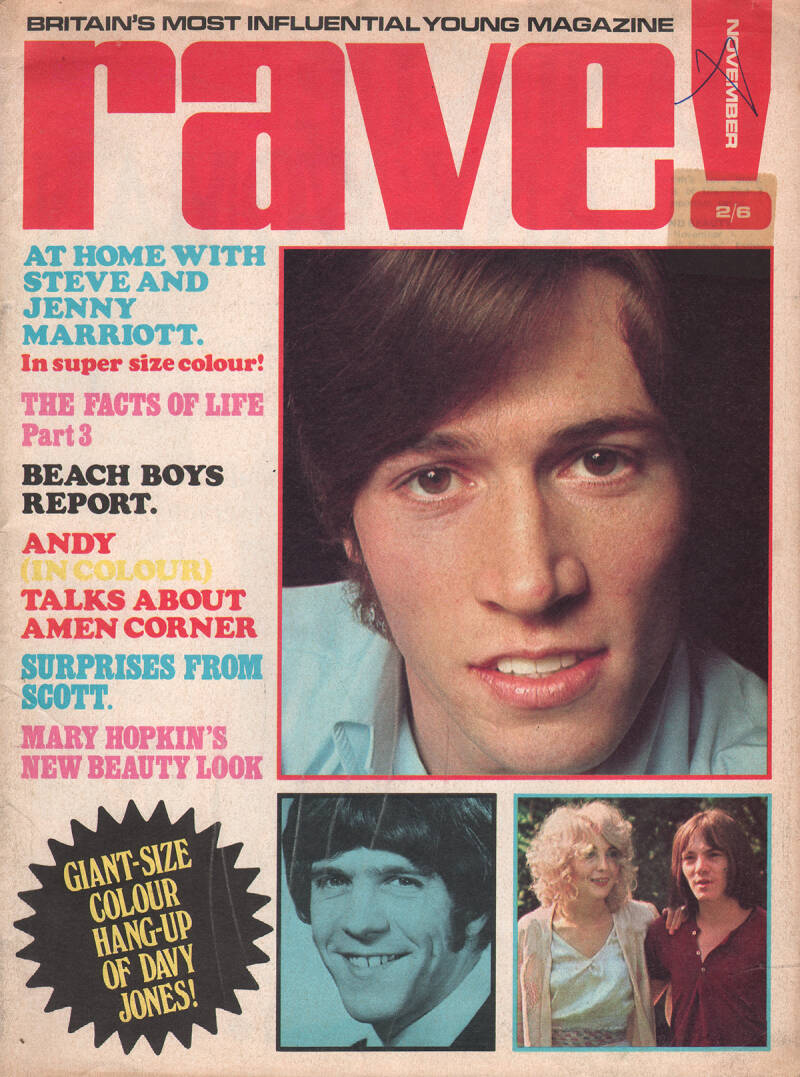 Rave - November 1968 [UK] - Magazine