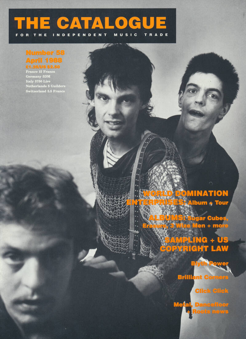 The Catalogue issue 58 - April 1988 [UK] - Magazine