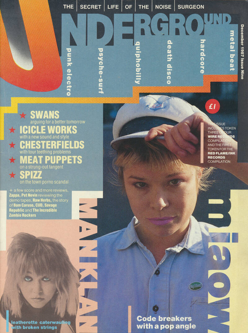 Underground issue 09 - December 1987 [UK] - Magazine