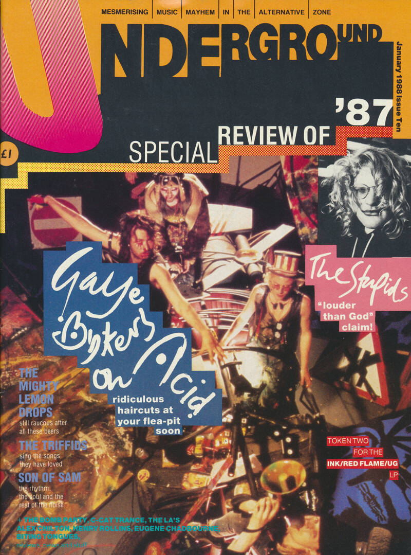 Underground issue 10 - January 1988 [UK] - Magazine