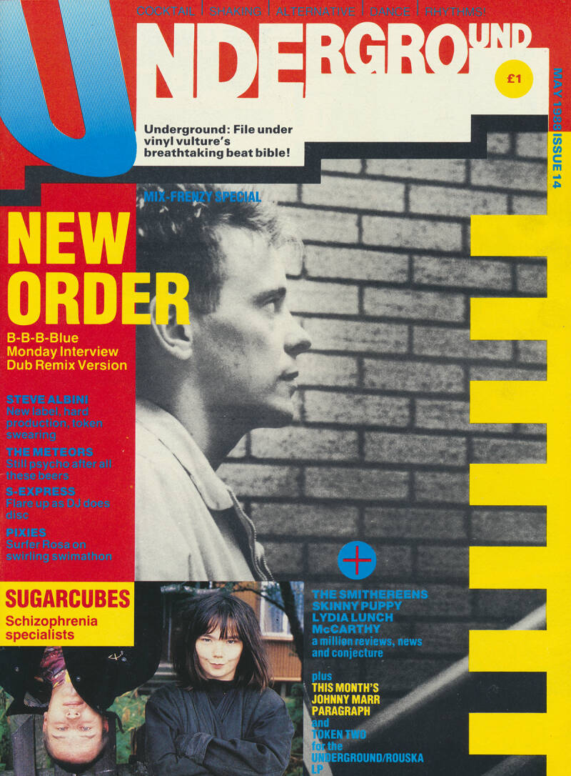 Underground issue 14 - May 1988 [UK] - Magazine