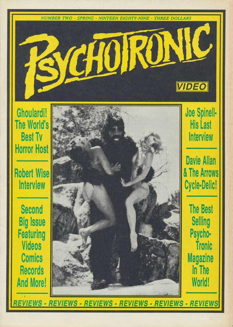 Psychotronic Video issue 02 - Spring 1989 [USA] - Magazine