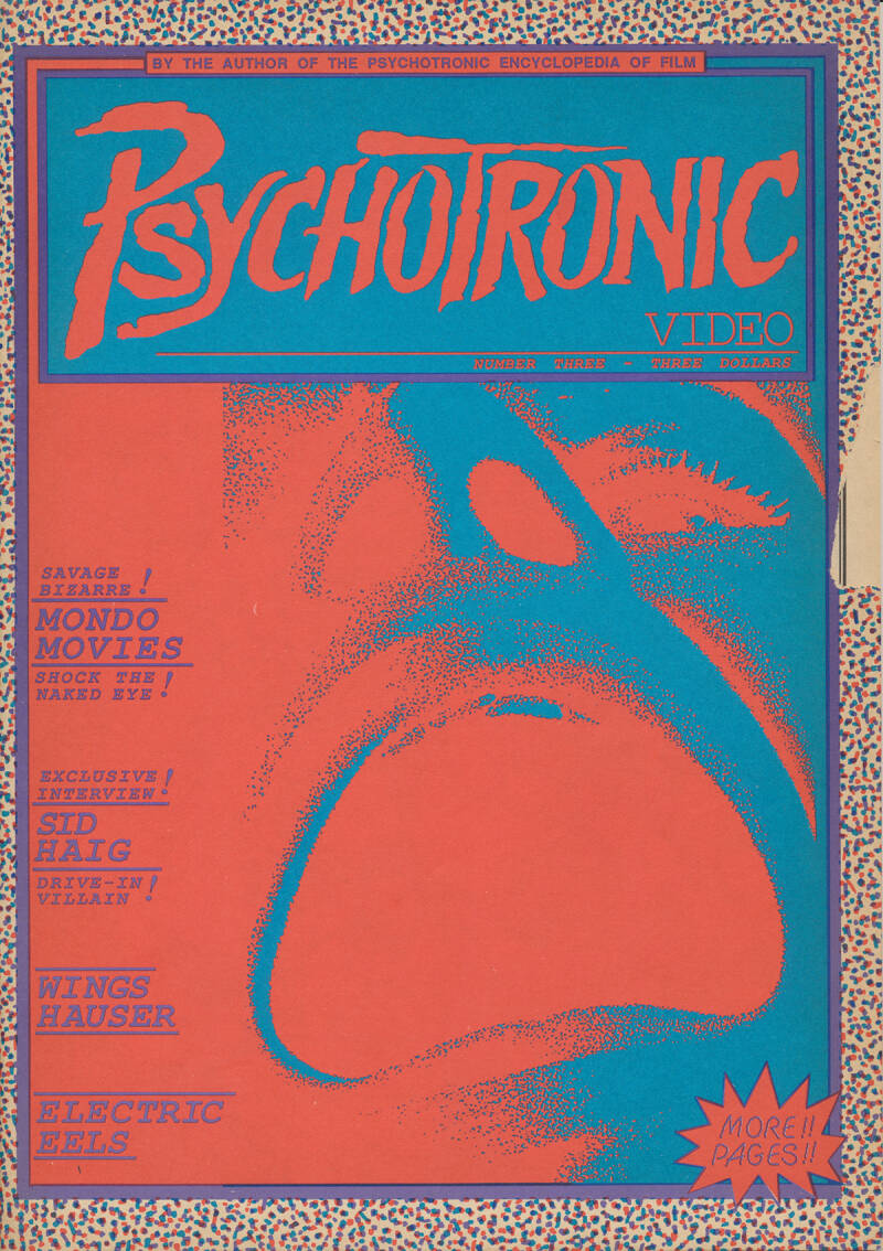 Psychotronic Video issue 03 - Summer 1989 [USA] - Magazine
