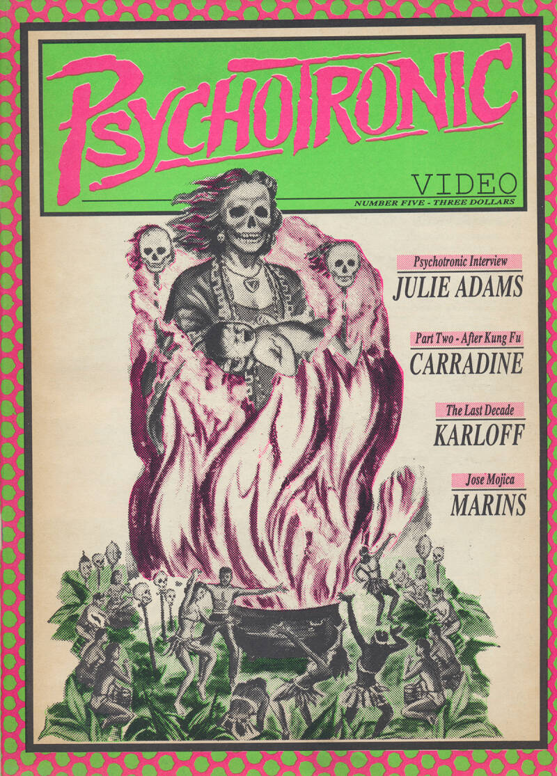 Psychotronic Video issue 05 - Spring 1990 [USA] - Magazine