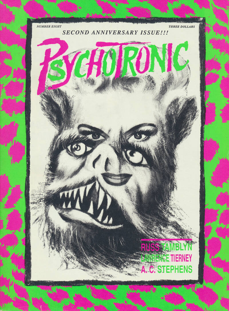 Psychotronic Video issue 08 - Winter 1990 [USA] - Magazine