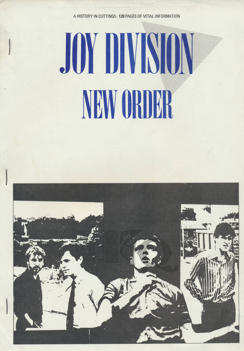 Joy Division / New Order - A History In Cuttings - 1983 [Holland] - Book