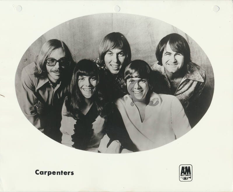 Carpenters - A Biography - 1971 [USA] - Press Kit