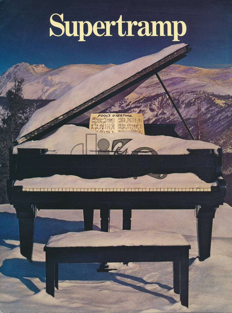 Supertramp - Even In The Quietest Moments - 1977 [USA] - Press Kit